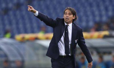 Lazio, il tecnico Simone Inzaghi