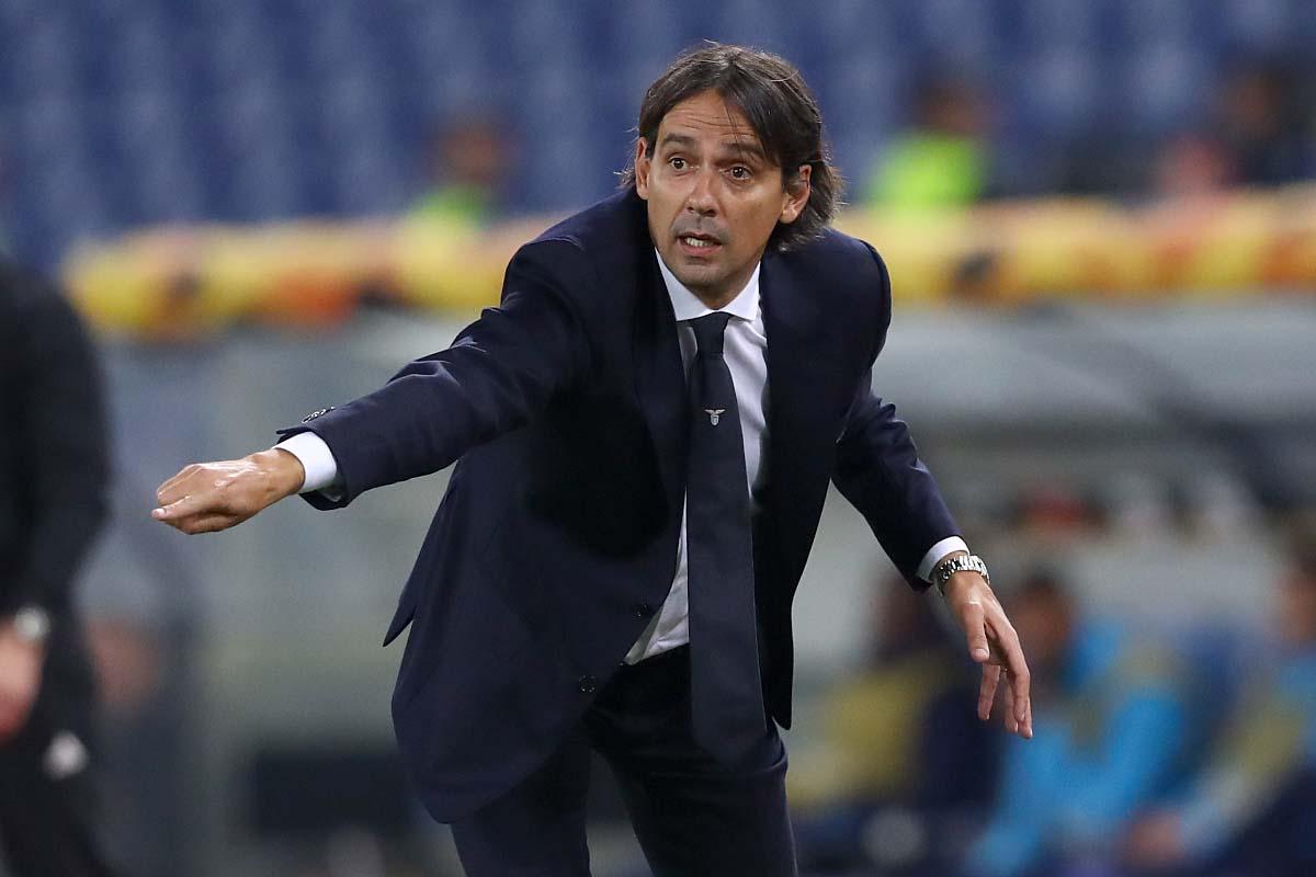 Lazio, il tecnico Simone Inzaghi ©sololalazio.it