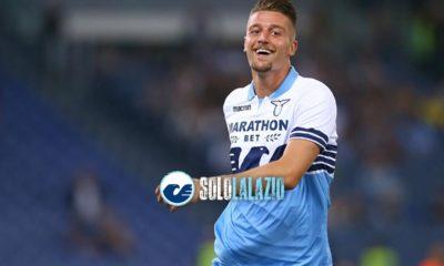 Milinkovic, in prima pagina il suo amore per la Lazio