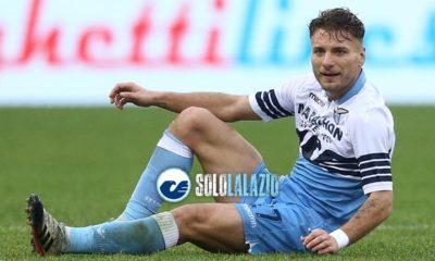 Lazio, l'attaccante Ciro Immobile ©sololalazio.it