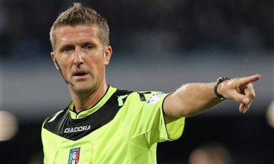 Lazio - Torino, arbitra Orsato