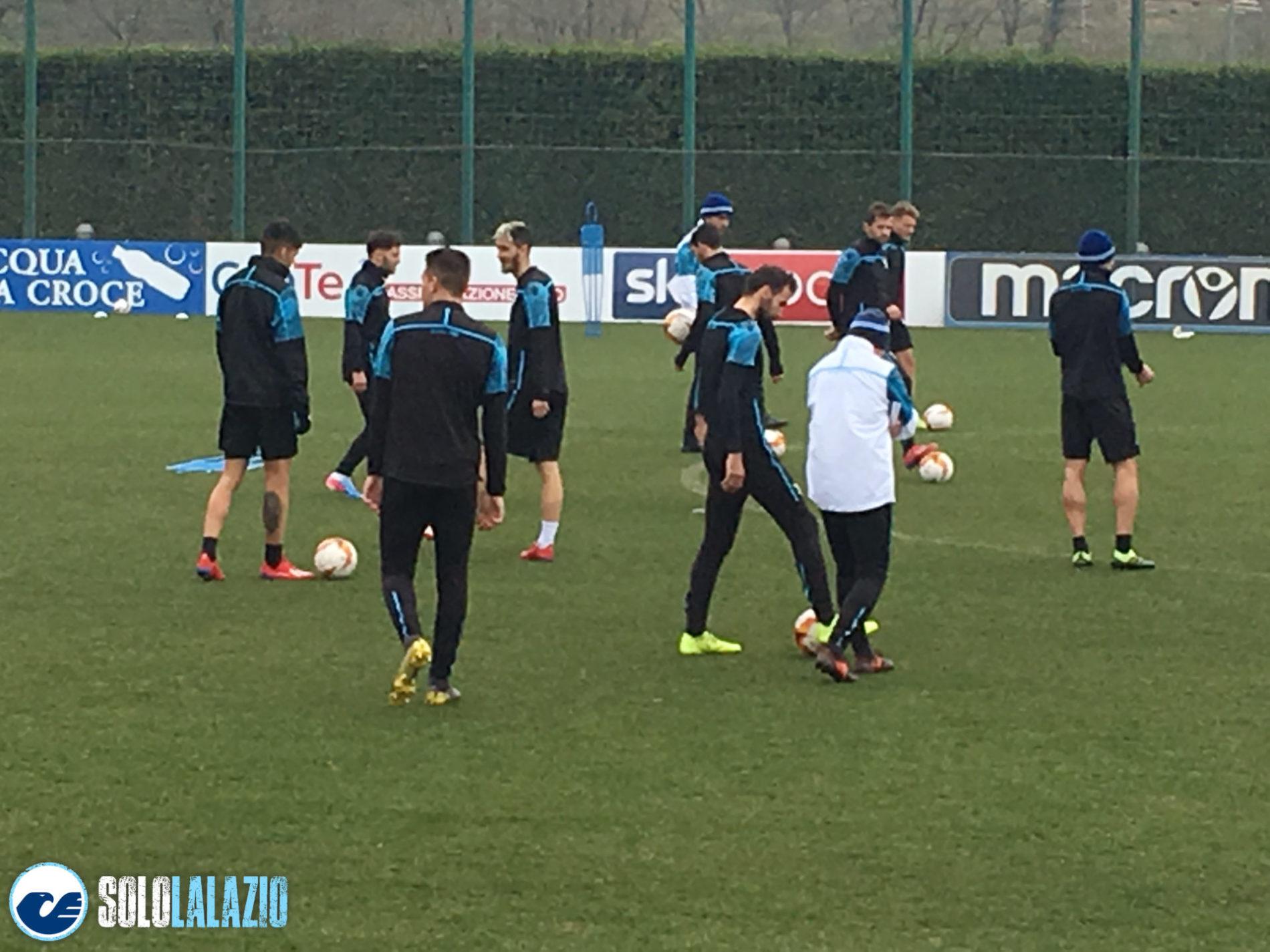 Lazio, allenamento