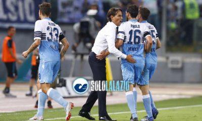 Lazio, Simone Inzaghi con la squadra ©sololalazio.it