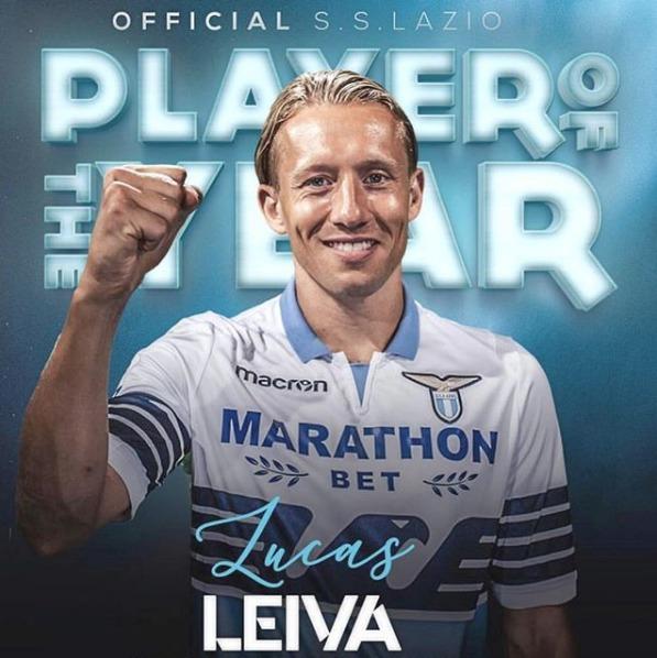 Lucas Leiva, centrocampista Lazio