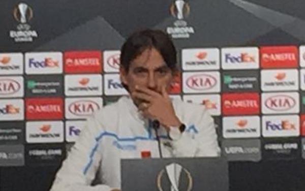 Lazio, conferenza Simone Inzaghi