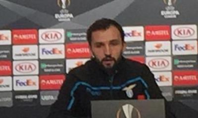 Lazio, il centrocampista Milan Badelj in conferenza