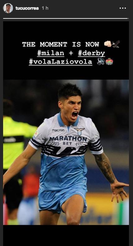 Lazio, la story di Correa