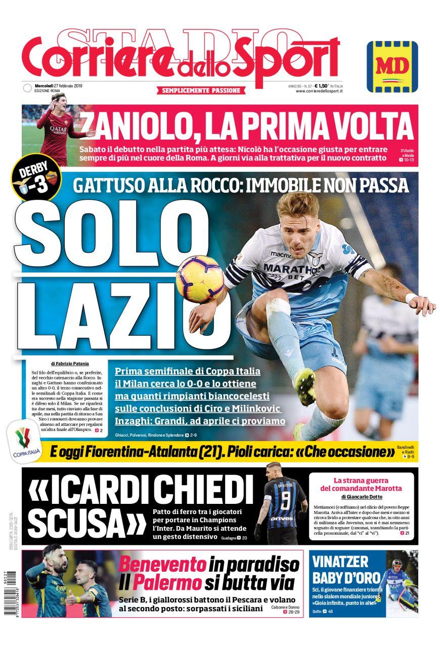 Il Corriere dello Sport edizione Roma