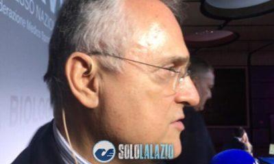 """Lotito su De Vrij nella famosa Lazio - Inter: """"Io non lo avrei fatto giocare"""""""
