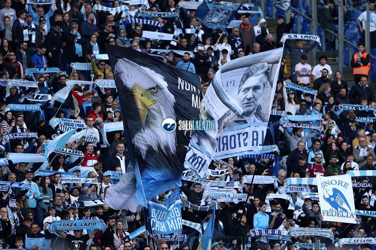 Finale Coppa Italia, Curva Nord