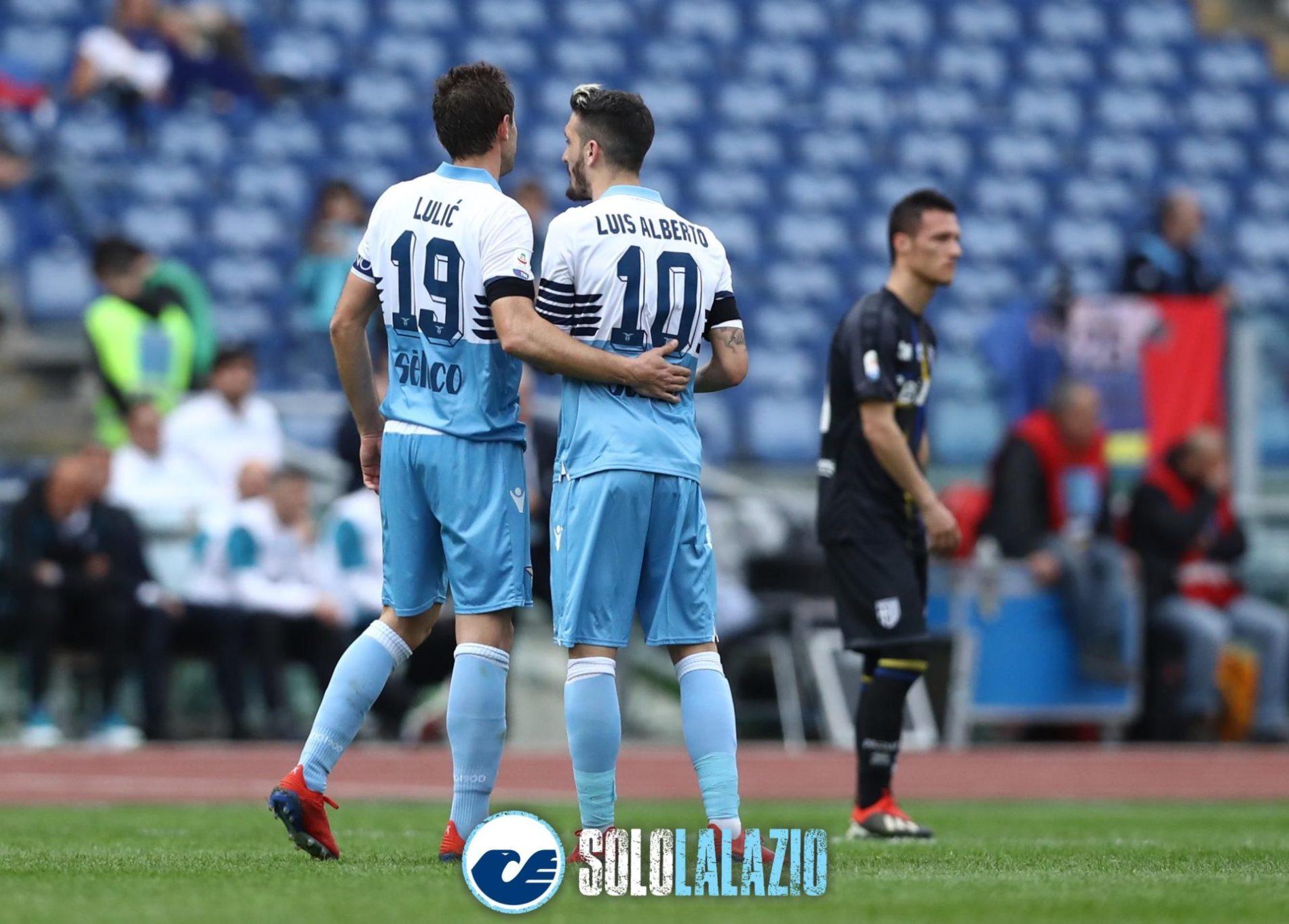Lazio-Parma, Lulic e Luis Alberto