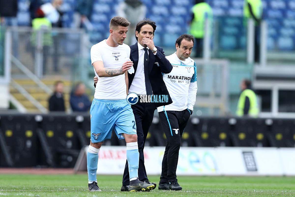 Lazio, Simone Inzaghi e Sergej Milinkovic