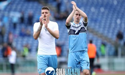 Lazio-Parma, Milinkovic e Marusic
