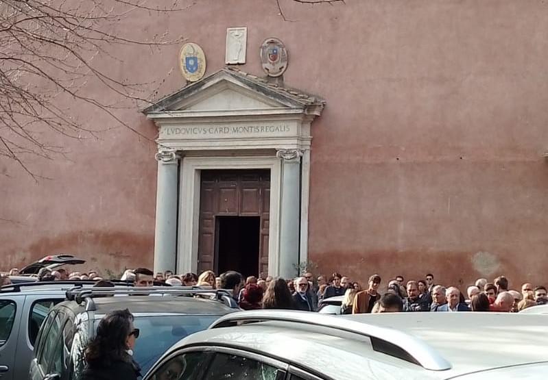Lazio, funerali Guerrieri