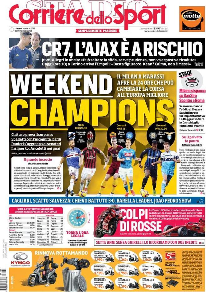 rassegna, Corriere dello Sport