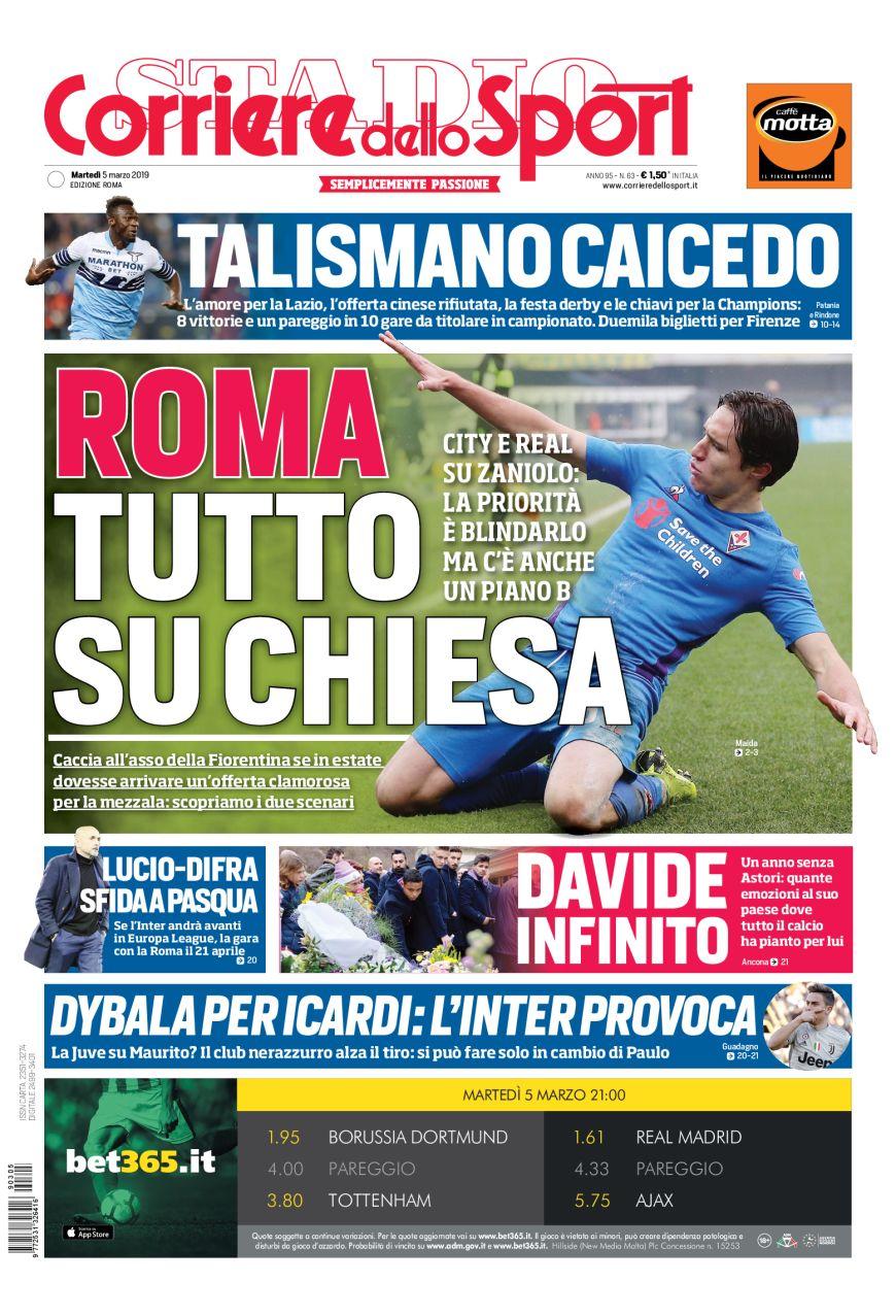 Il Corriere dello Sport Roma