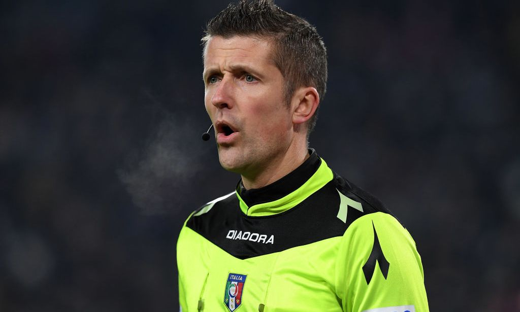 Daniele Orsato arbitrerà il match del Franchi