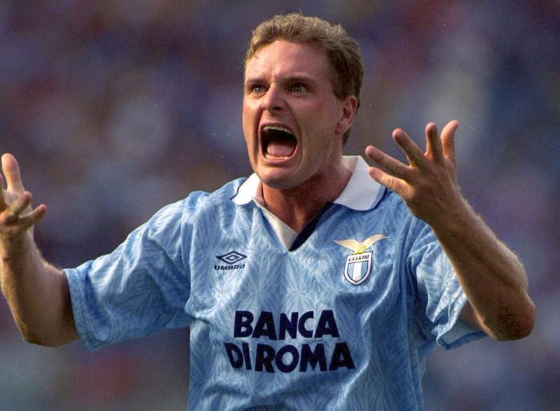 Lazio, Paul Gascoigne