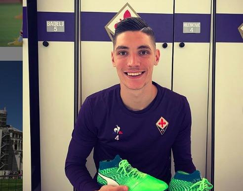 Milenkovic, giocatore della Fiorentina
