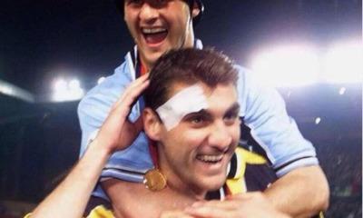 """La Lazio, Bobo Vieri e la nostalgia: """"Che bella quella maglia"""" (FOTO)"""