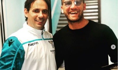 Lazio, Guglielmo Stendardo e Simone Inzaghi