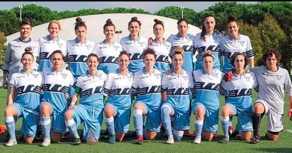 Tutto pronto per la presentazione di domani della Lazio Women