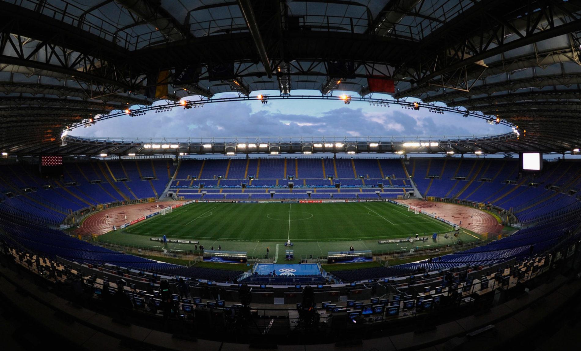 Serie A, anche l'Olimpico si prepara alla ripresa del campionato
