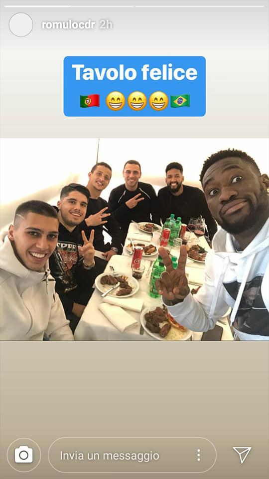 La Lazio a tavola insieme