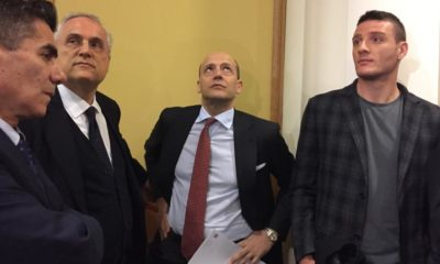 Lotito e Baldissoni in sala