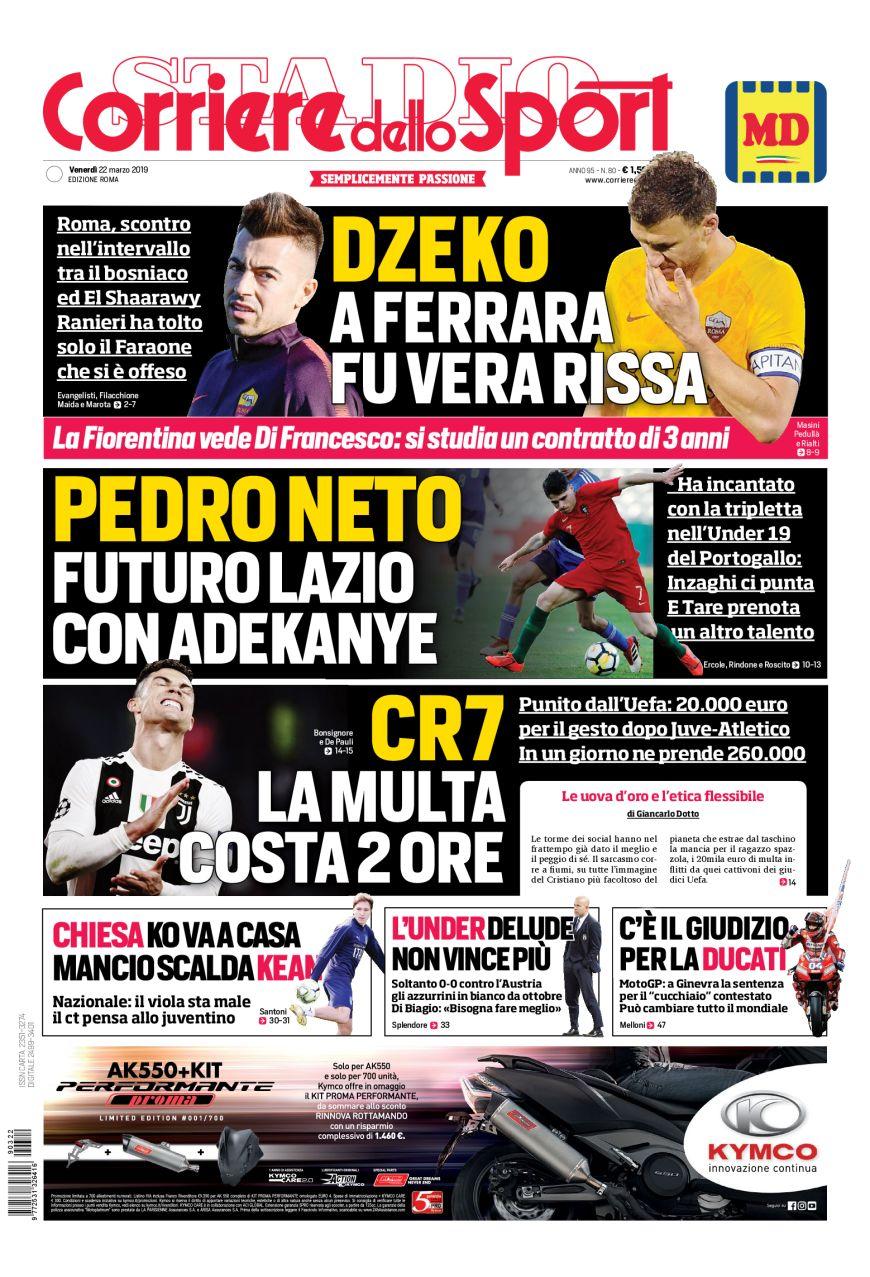 Il Corriere dello Sport a Roma