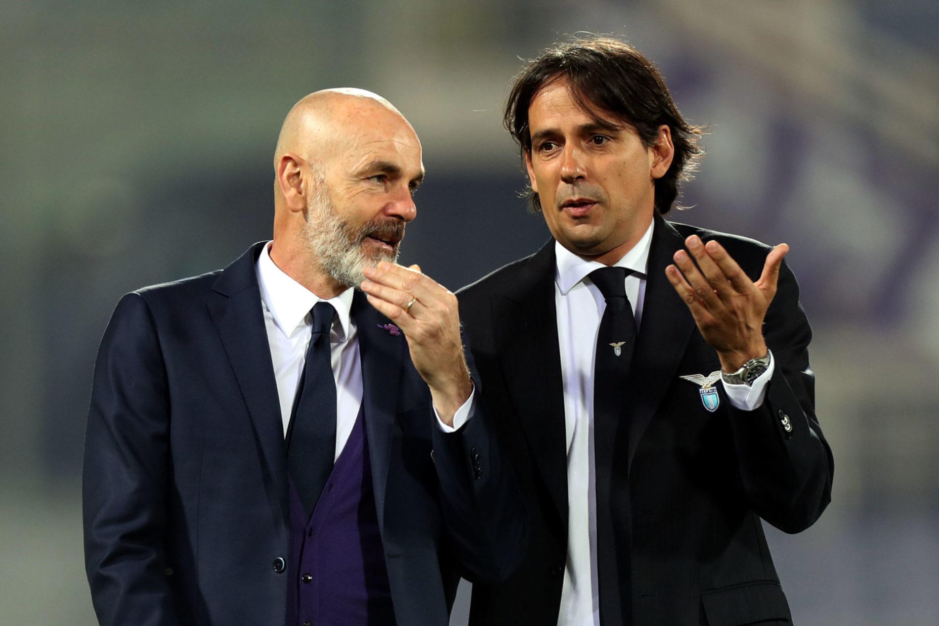 Simone Inzaghi e Stefano Pioli