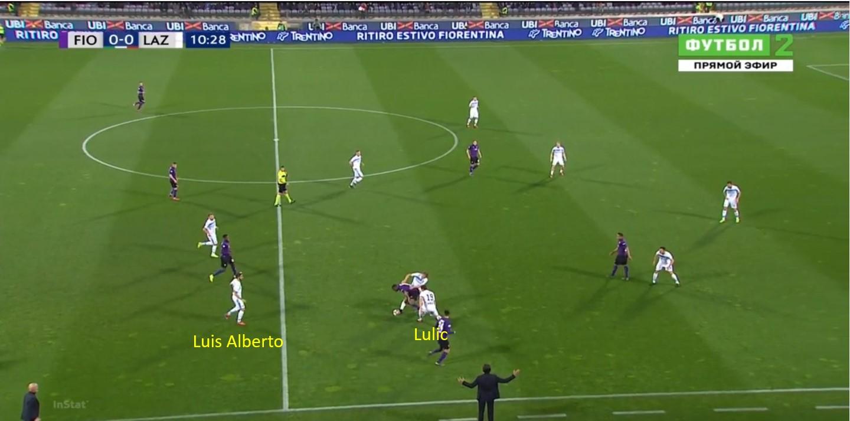 Lazio, Lulic vs Fiorentina