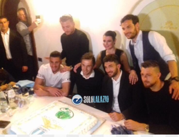 """La cena """"La Lazio tifa Anti-Cipo Onlus"""""""