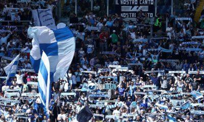 Lazio - Inter, l'abbraccio dell'Olimpico con oltre 55mila presenze