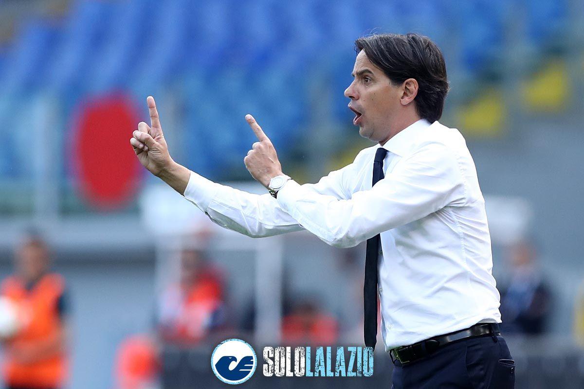 Lazio-Atalanta, Simone Inzaghi