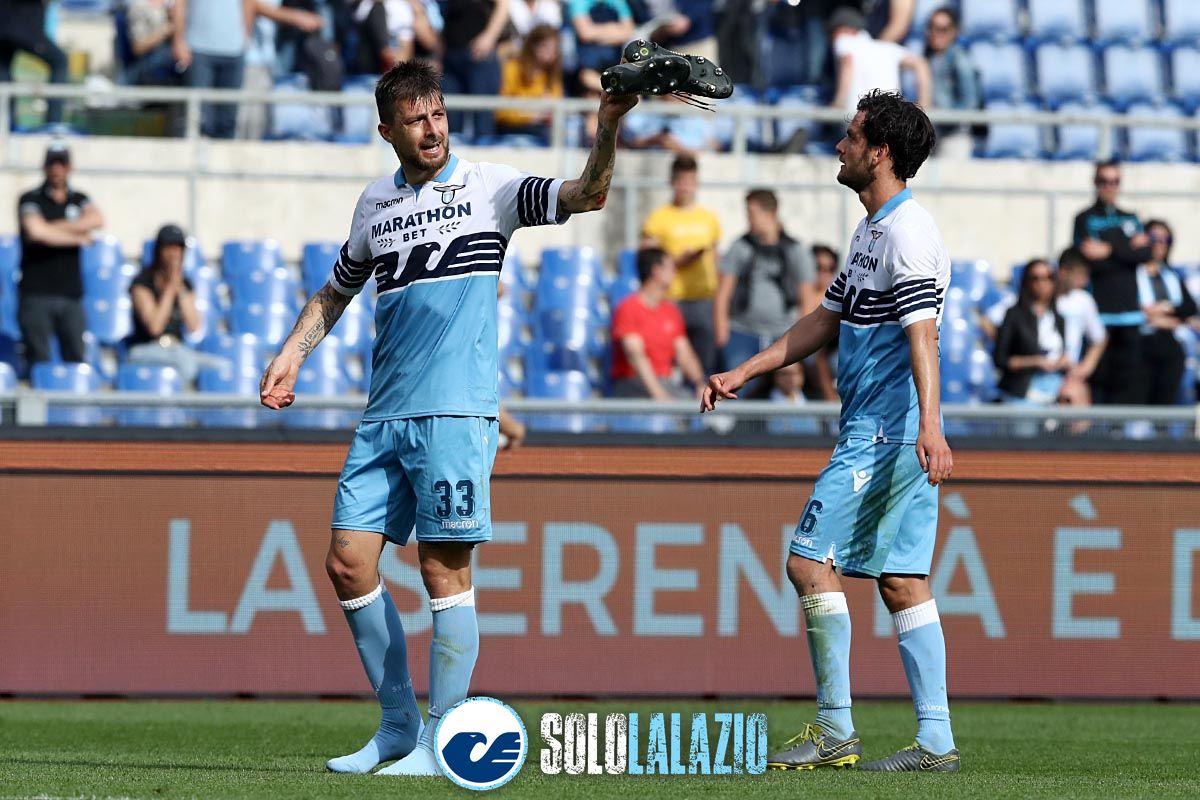 Lazio-Chievo, Francesco Acerbi e Marco Parolo