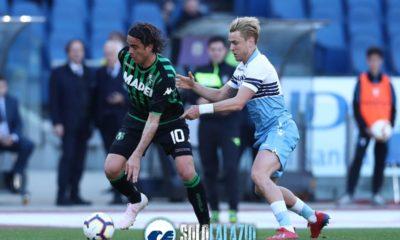 Lazio-Sassuolo, Patric e Matri