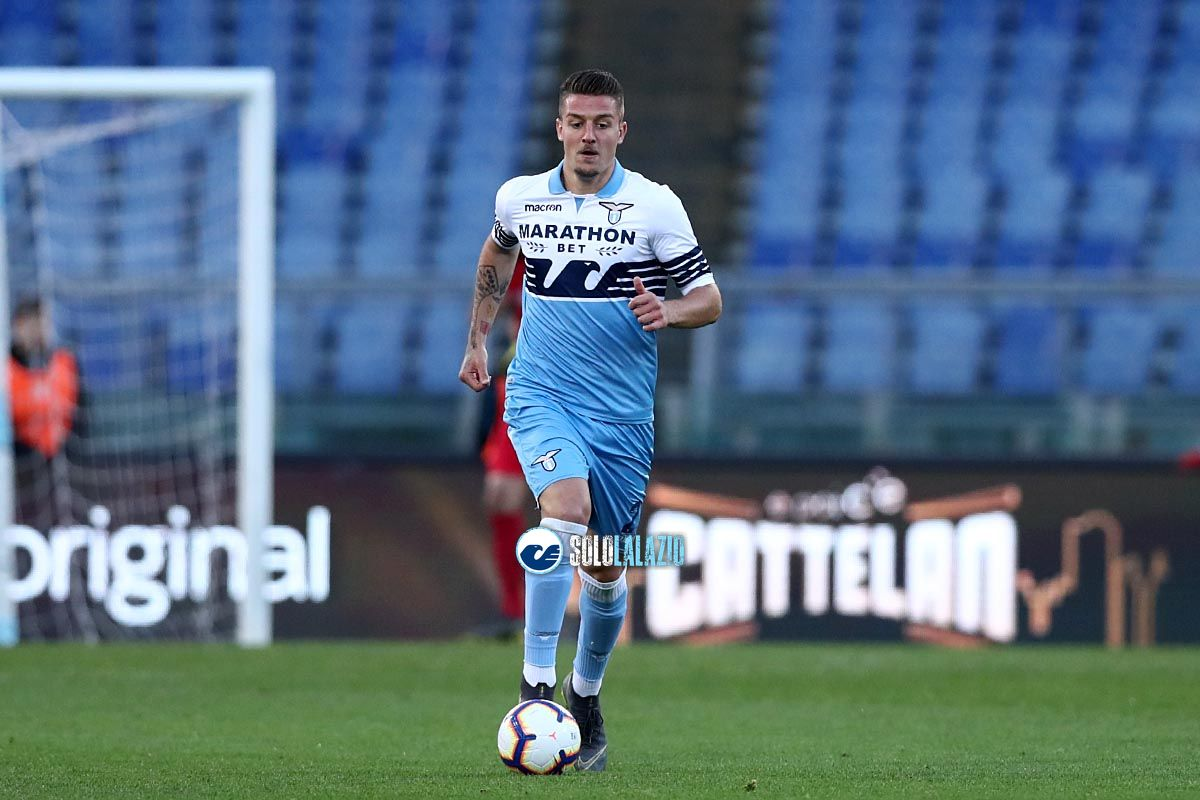 "Milinkovic, GdS: ""Intesa Lazio-United, affare da 80 milioni"""