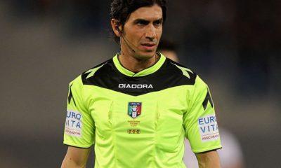 Lazio, l'arbitro Calvarese