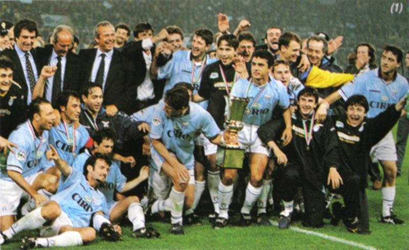 Coppa Italia 1998, vinta dalla Lazio
