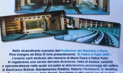L'evento all'Auditorium del Massimo