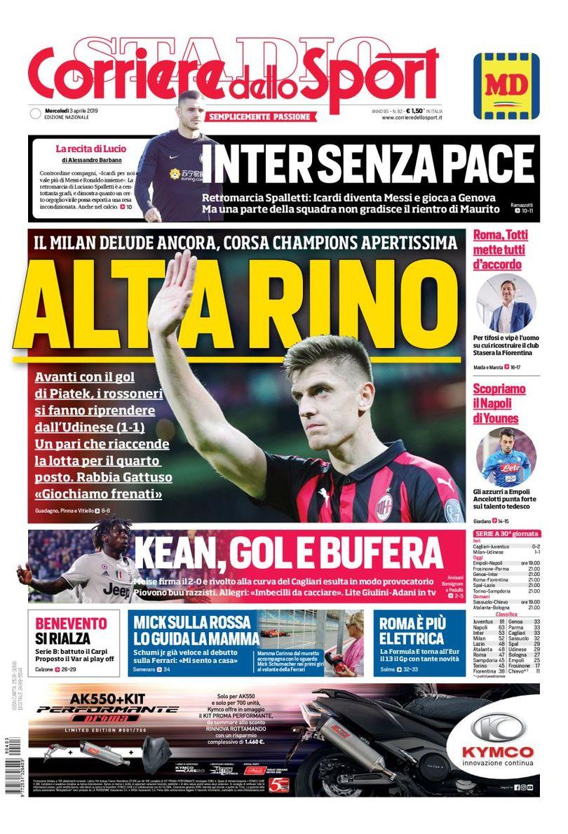 Rassegna, Il Corriere dello Sport