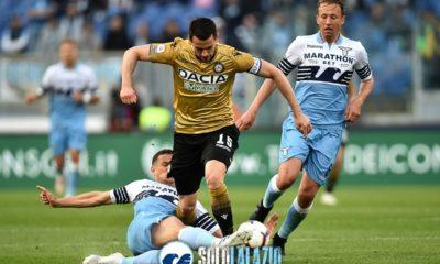 Lazio-Udinese, Luiz Felipe su Kevin Lasagna
