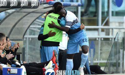 Sampdoria-Lazio, Felipe Caicedo e Wallace