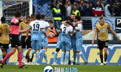 Lazio, esultanza