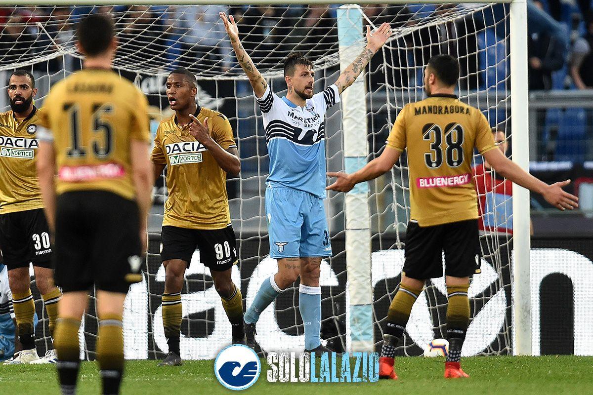 Lazio-Udinese, Francesco Acerbi