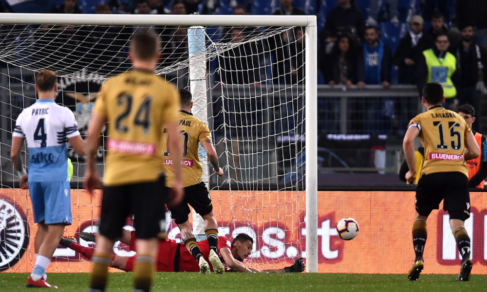 Lazio-Udinese, Thomas Strakosha