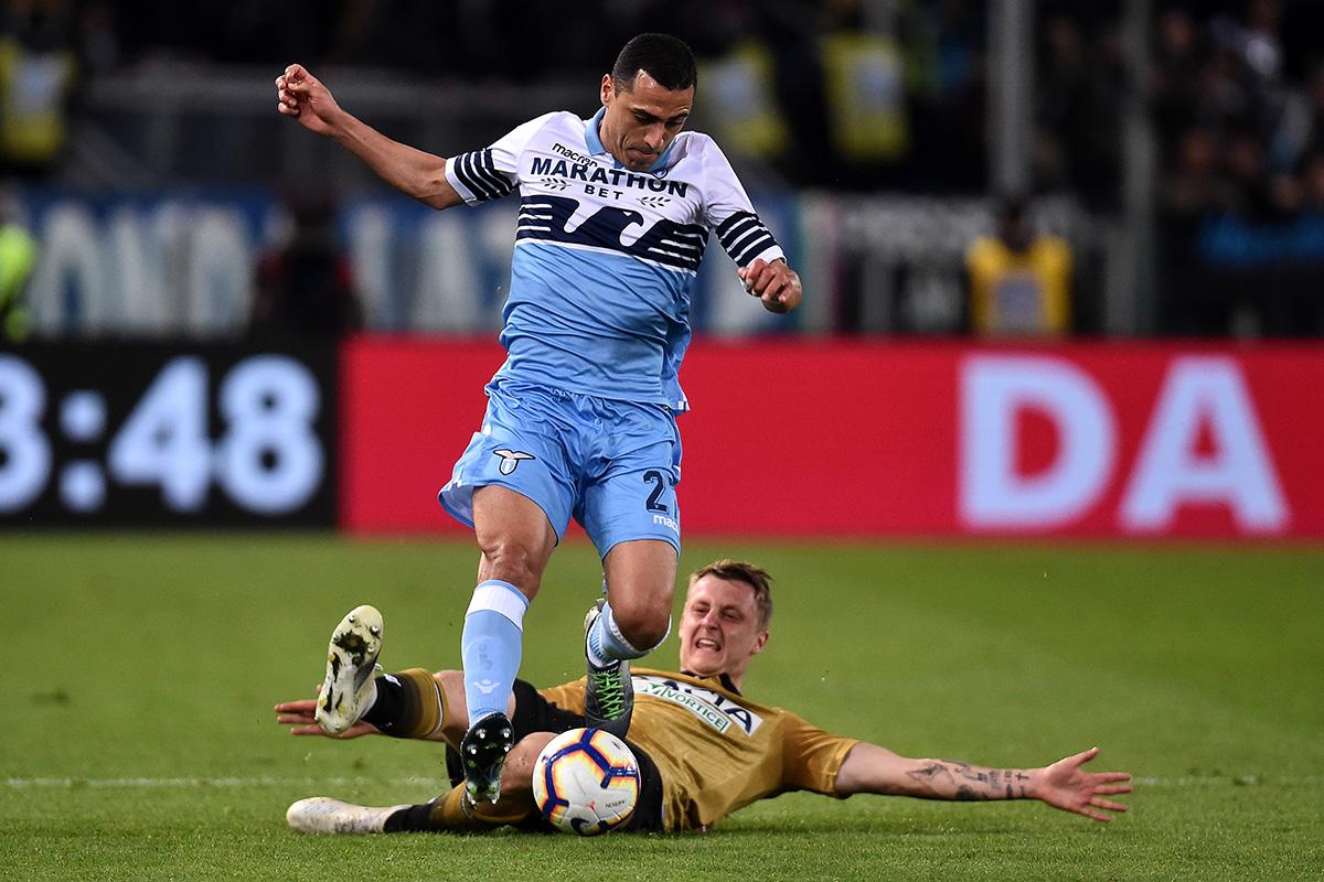 Lazio-Udinese, Romulo
