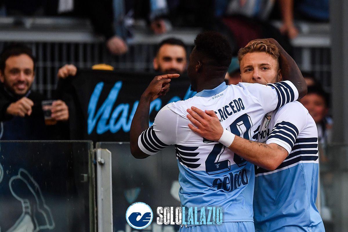 Lazio-Udinese, Felipe Caicedo e Ciro Immobile