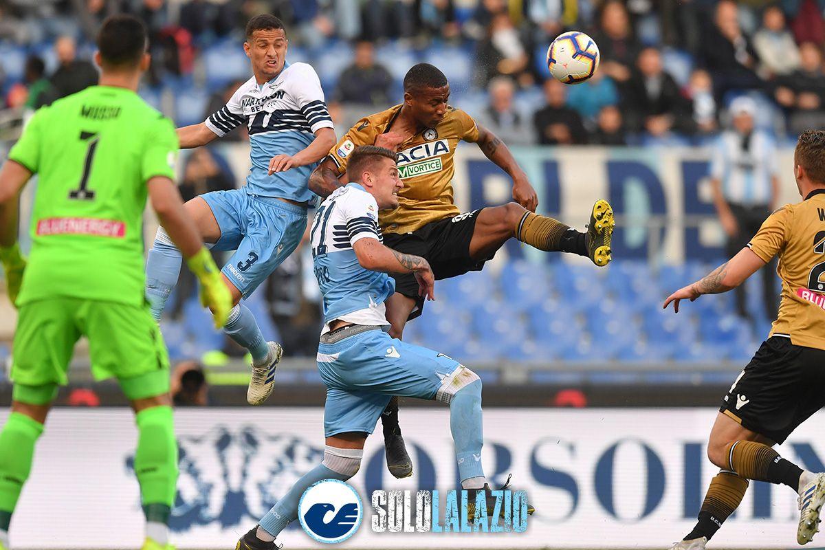 Lazio-Udinese, Luiz Felipe e Sergej Milinkovic-Savic